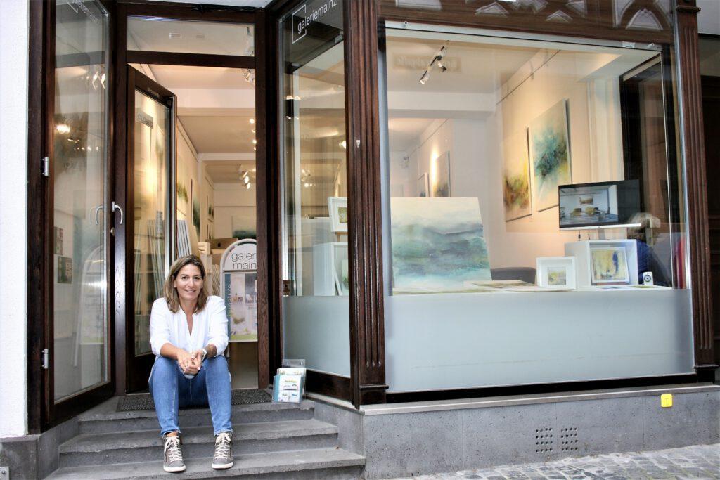 galerie mainz - der Showroom der Künstlerin Kirsten Schankweiler -  www.kirstenschankweiler.de